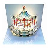 Arrowfile Carte d'anniversaire Pop-Up–Carrousel...