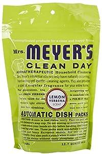 12.7 Oz Automatic Dishwashing Soap Packs with Lemon Verbena Scent (Set of 2)