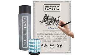 Happylandgifts - Cadeau de paysage en Bavière - Cadeau idéal pour la Bavière
