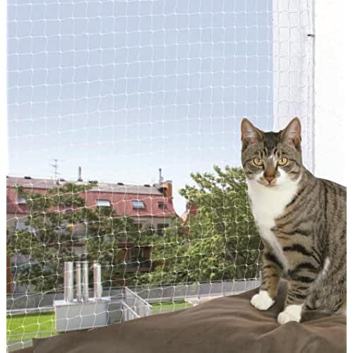 regalos kawaii gato TRIXIE 44303 - Red de seguridad para gatos, 2 x 1.5 m