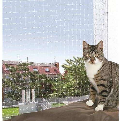 regalos kawaii gato TRIXIE 44303 - Red de seguridad para gatos, 2 x 1.5 m