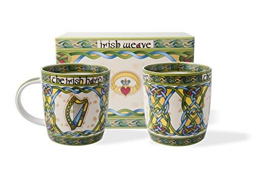irish-harp-mug-set-of-two-with-matching-irish-gift-box-by-royal-tara