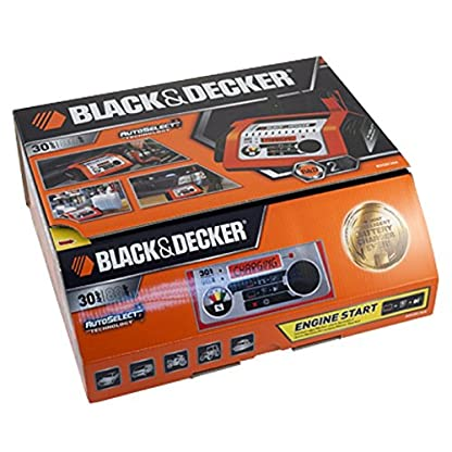 Black and Decker BDSBC30A Cargador Batería Autoselect, 30A