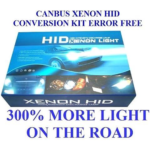 canbus Xenon HID Kit di conversione senza errori h74300K 5500K 6000K 8000K 10000K UK venditore
