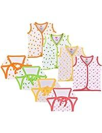 Orange and Orchid Unisex Regular Fit Clothing Set