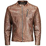 ᐅᐅ  jack and jones lederjacke braun Test ✓ Januar und jack and ... 09635cc723