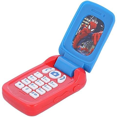 Téléphone Spiderman avec sons réalistes -