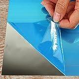 Forepin-16-piezasset-cuadrados-espejos-de-pared-autoadhesivo-Mosaico-Azulejos-Fai-Da-Te-15-cm-15-cm-pegatinas-murales-dormitorio-de-cama-saln-bao-decoracin-Self-adhesive-DIY-Mirror-Wall-Stickers