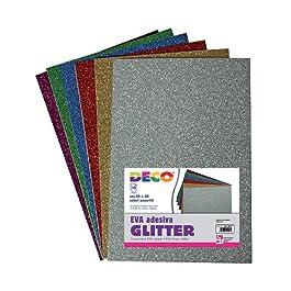 Deco 10401 Gomma Crepla Glitterata