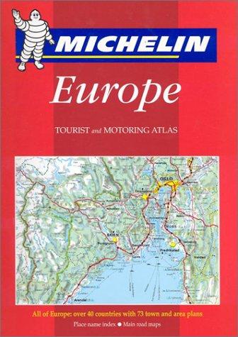 Michelin Europe Tourist and Motoring Atlas par (Couverture à spirales - Jan 2002)