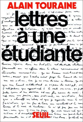 Lettres à une étudiante