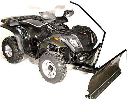Linhai - Hytrack 260-320ccm alle Modelle Schneeschild kompletter Kit Profi 120cm (Anbaugeräte Für Atv)