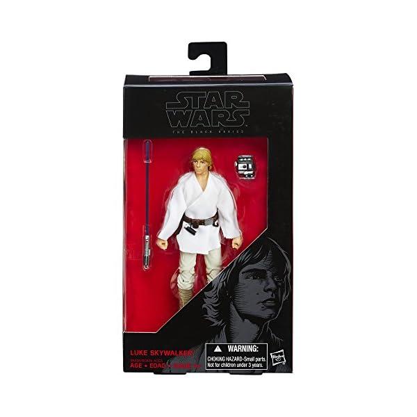 Hasbro Figura de Luke Skywalker de La Guerra de Las Galaxias: una Nueva Esperanza - The Black Series, 15,24 cm 2