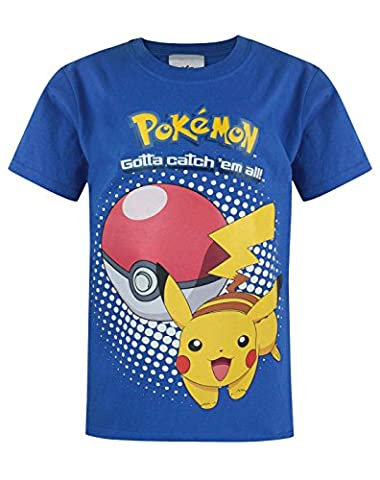 Official Pokemon Pikachu Kid's T-Shirt