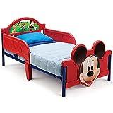 TW24 Kinderbett 140x70cm - Babybett - Jugendbett - 3D mit Motivauswahl (Mickey Mouse)