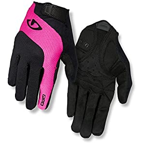 Giro Damen Tessa Gel LF Fahrradhandschuhe, Black/pink, XL