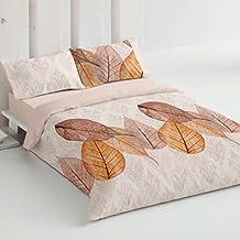 Burrito Blanco - Juego de funda nórdica 337 Teja, para cama de 180 x 190/200 cm.