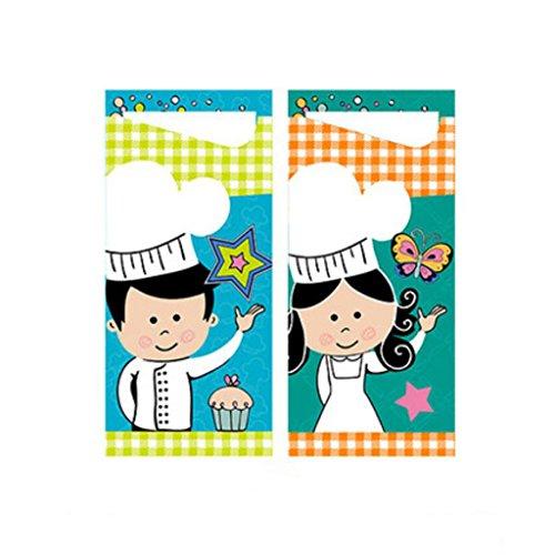 burtstag Dekoration Cartoon Druck Serviette Party Dress Up Esstisch kreative Layout ( Farbe : Tableware cover/100 Pcs ) (Cartoon-dekorationen)