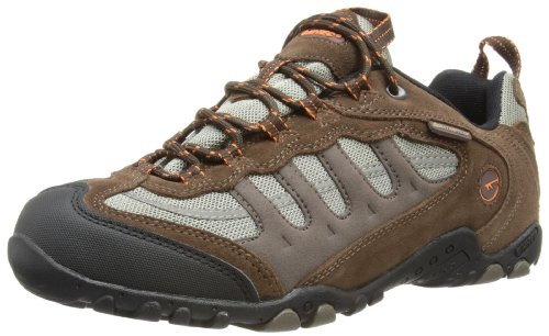 Hi-Tec - Windermere, Scarpe Da Trekking da uomo, marrone (chocolate/taupe/orange), 42