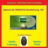 Eunicell WEBASTO Batterie für Handsender Fernbedienung T91 Standheizung 3V