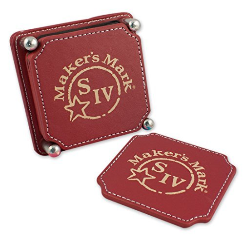 makers-mark-leather-wrapped-coaster-set-of-6-by-makers-mark-distillery