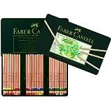 Faber-Castell 112160 Farbstift Pitt Pastell, 60er Metalletui