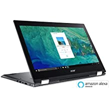 "Acer Spin 5 SP515-51GN-83YY, 15.6"" Full HD Touch, 8th Gen Intel Core I7-8550U, GeForce GTX 1050, Amazon Alexa Enabled, 8GB DDR4, 1TB HDD, Convertible, Steel Gray"
