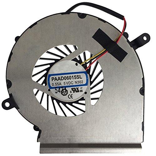 PAAD06015SL Replacement Laptop GPU Cooling Fan For GE62 GE72 PE60 PE70 GL62 GP62 N302 Notebook Cooler Radiators
