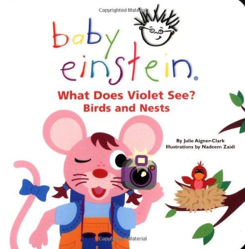 Baby Einstein: What Does Violet See? Birds and Nests (Baby Einstein's What Does Violet See) (Disney Baby Einstein-bücher)