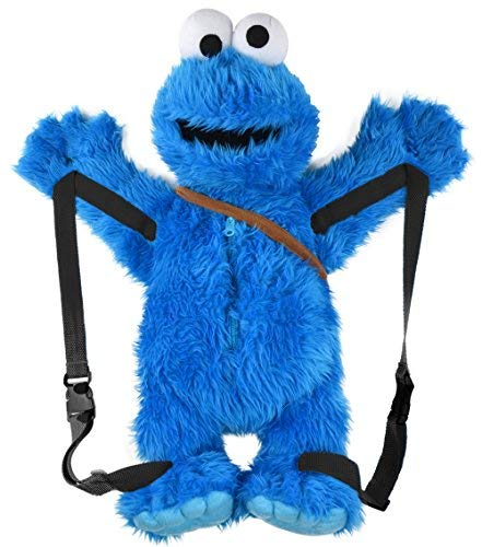 Sesamstraße Krümelmonster 3D Rucksack - ca. - Monster Tragen Mann Kostüm