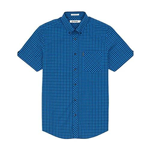 chemisette-ben-sherman-blue-ocean-azul-azul-cobalto