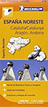 Cataluña / Catalunya, Aragón, Andorra Regional Map 574 (Michelin Regional Maps)