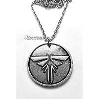 The Last Of Us, collana con il simbolo stemma delle luci in metallo nichel free 30mm