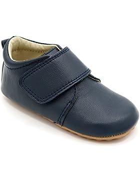 [Patrocinado]Zapatos de bebé y niño clásicos en azul marino de Shimmy Shoes - Zapato de cuero premium azul marino (Tallas 19...