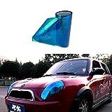 SMKJ Auto Scheinwerfer Folie Tönungsfolie Aufkleber für Scheinwerfer Nebelscheinwerfer Rückleuchten Blinker Gr.200cm x 30cm (Chamäleon DunkelBlau)