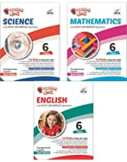 Olympiad Champs Science, Mathematics, English Class 6 with Past Questions (Set of 3 Books)