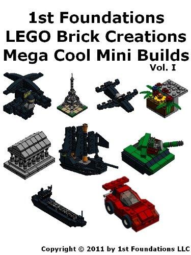 1st Foundations Lego Brick Creations Nine Instructions For Mega