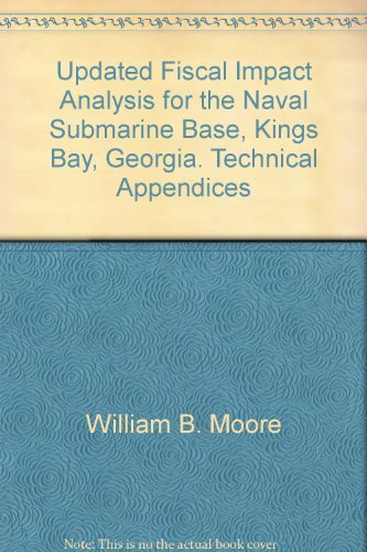 Updated Fiscal Impact Analysis for the Naval Submarine Base, Kings Bay, Georgia. Technical Appendices