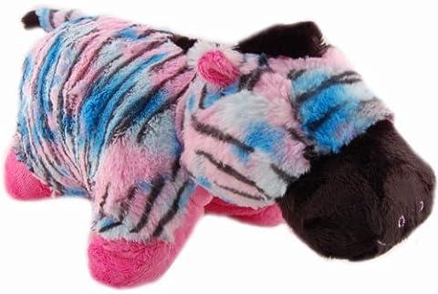 Pillow Pets Pillow, Zebra Glow Pet, 17-Inch by Pillow Pets