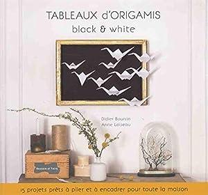 "Afficher ""Tableaux d'origamis black & white"""
