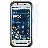 atFolix Schutzfolie kompatibel mit Panasonic Toughpad FZ-N1 / FZ-F1 Panzerfolie, ultraklare & stoßdämpfende FX Folie (3X)