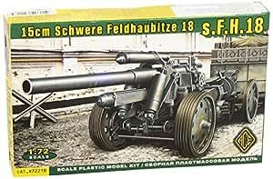 Canon allemand s.FH18 15cm Schwere Feldhaubitze 18 5 avec système de transport