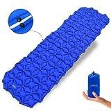 Acelane Inflatable Sleeping Pad Star-shaped Ultralight Compact Air Pad Lightweight Sleeping Mat