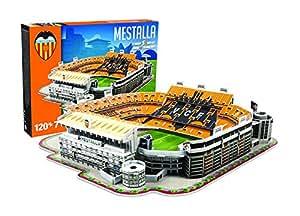 Giochi Preziosi 70340041 – 3D Stadion-Puzzle Est Mestalla Valencia