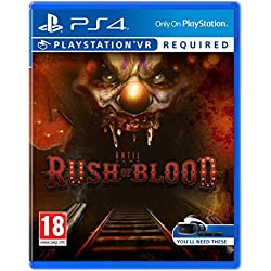 Until Dawn Rush of Blood V (PS4)