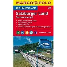 MARCO POLO Freizeitkarte Salzburger Land 1:120.000