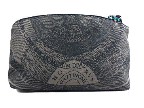 Portatutto tessuto | Gattinoni Planetarium Soft | 27 x 18 x 7 cm Nero