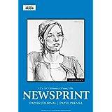 """Jack Richeson 100211 Rough Newsprint 100 Sheet, 12"""" x 18"""""""