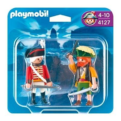 Duo pirata y soldado de Playmobil (4127)