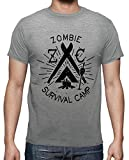 tostadora - T-Shirt Z-Camp - Uomo Grigio Melange XXL